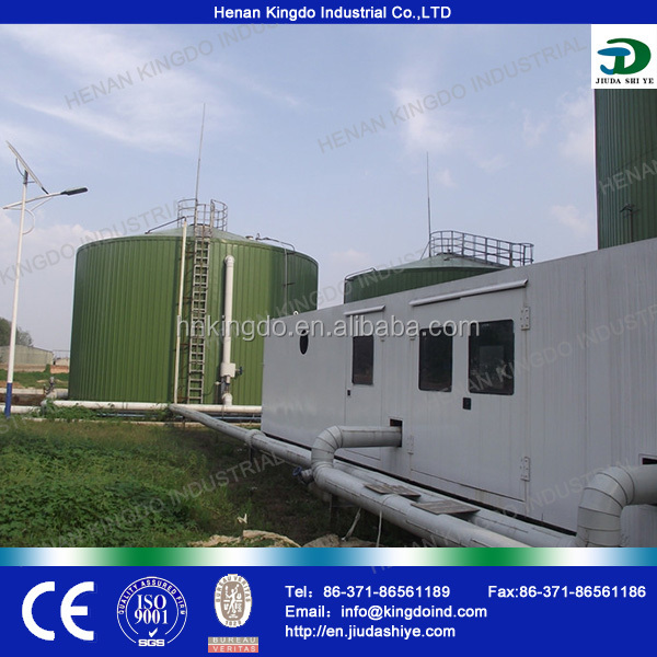 biogas plant turnkey project/biogas equipment/container house