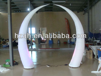 Beauty Inflatable Ivory For Wedding Decorations