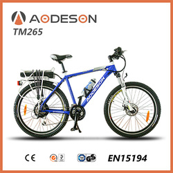 E BIKE TM265 with robust quality and excellent handling which is suitable for leisurely touring or the daily commute to work