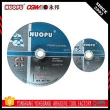 Design For Grinders carbon steel metal cutting disc
