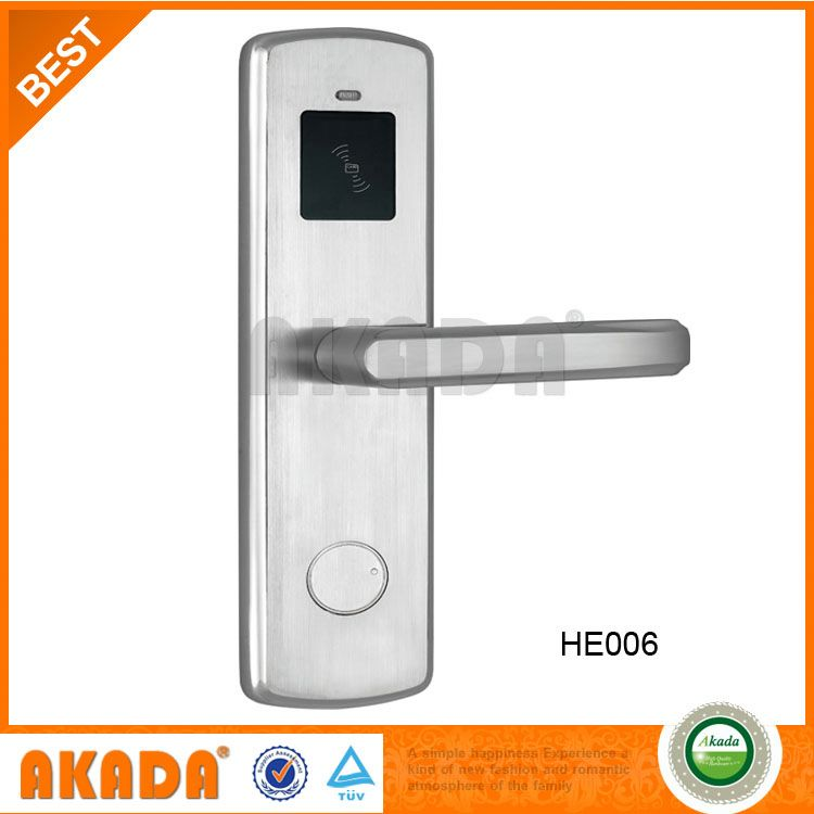 Special Designed Rfid Card Door Lock For Hotel