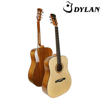 High quality soild top handcrafted acoustic guitars wholesale