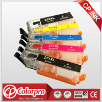 PGI-270/CLI-271 refillable for canon MG7720,MG6820,MG6821,MG6822,MG5720,MG5722,MG5721