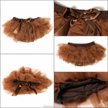 Baby bloomer tutu ruffle child wear baby bloomers chiffon diaper cover