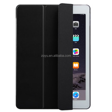 Portable leather wallet felt case for ipad mini