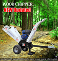 15hp PETROL WOOD CHIPPER