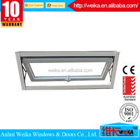 Modern house any size is available international brand aluminum pvc casement window for high building and residential