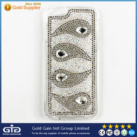 Factory Price Bling Diamond Case for IPhone 6 Full Cover Rhinestone Phone Case for IPhone 6
