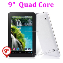 Factory 9 inch Android5.1 Lollipop Actions atm7029 Quad core Tablet PC Wifi BT HD Screen camera HDM ibook mid for kids
