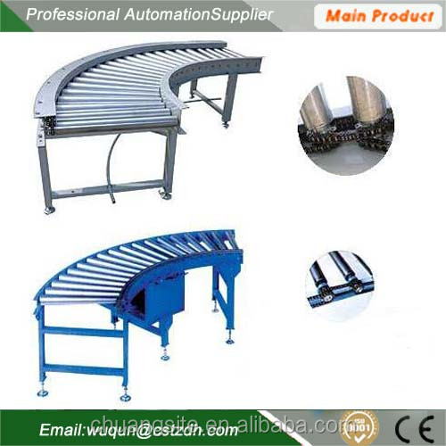 industrial portable belt roller conveyor