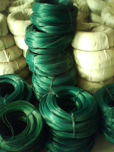 offer pvc coated iron wire