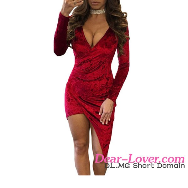 Cheap Off Shoulder Mesh Insert Long Sleeves Women Dresses Sexy Bodycon
