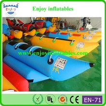 2015 Enjoy high quality/hotsale/pvc/water/sea/funny/cheap/double/inflatable sea banana boat