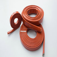 Firesleeve Silicone Fibreglass Fire Insulation pipe/Fire prevention tube