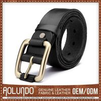 Hot Selling Quality Guaranteed Leather Belt Stainless Steel Buckle Belt For Men