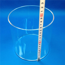 HM Transparent Borosilicate Pyrex Glass Tube Pipes