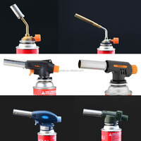 gas torch for heating and welding CE approval with butane gas cartridge