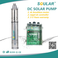 New Popular mini 12v dc solar water pump solar pump deep well system