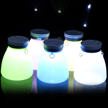 Hot Selling 2017 Plastic Electric Battery Operated Mini LED Camping Lights Lanterns