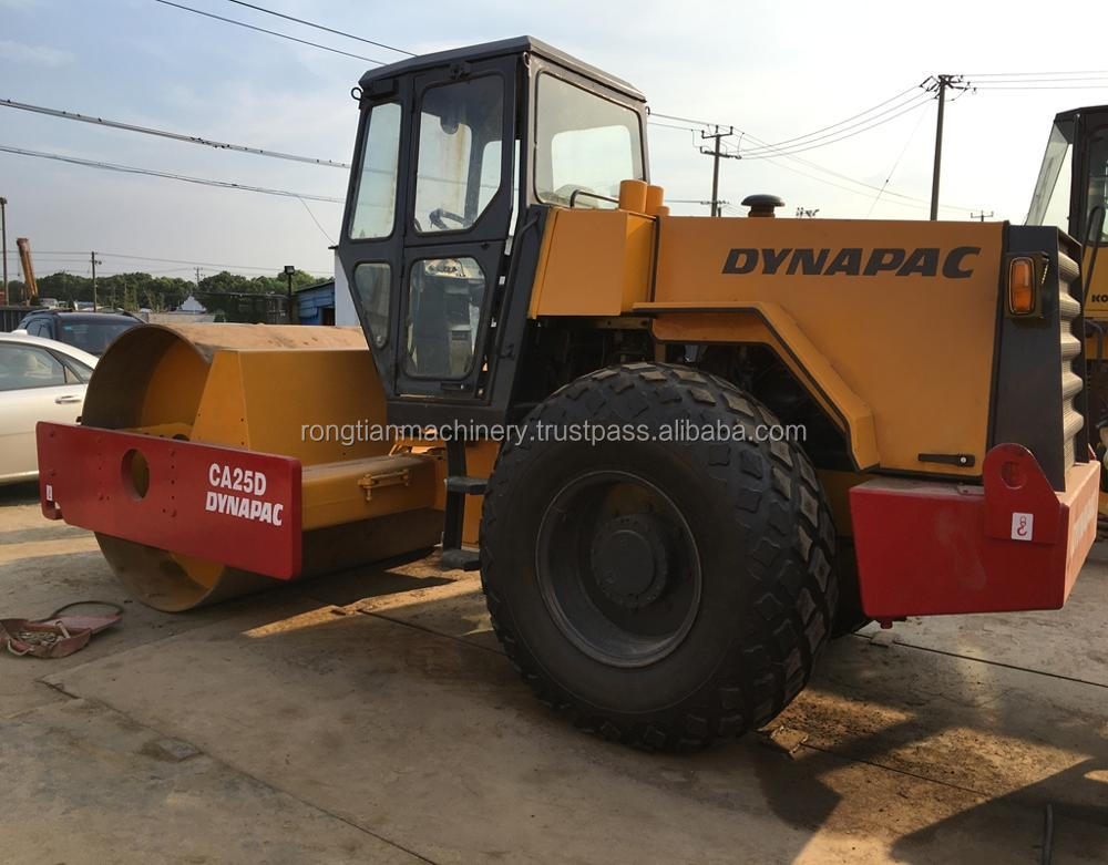 Good quality used dynapac road roller CA25D for sale/ dynapac roller with low price
