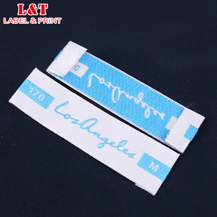 Cheap Colorful Design Custom Small Fabric Woven Clothing Label Child
