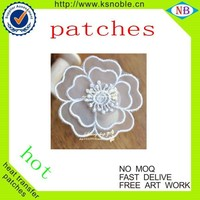 cotton embroidery nylon lace fabric wholesale embroidery lace patch