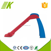 Stand kids plastic playground slide material kids swing and slide