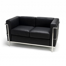 Most popular LC2 2s leather sofa