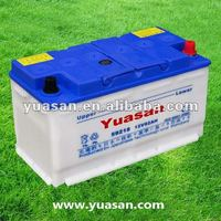 12V 92AH Dry Charge Car Battery for Autos/Trucks/Vehicles DIN 59218