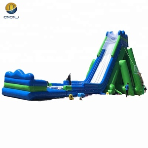 Giant inflatable water slip n slide, long inflatable water slide for kids and adults