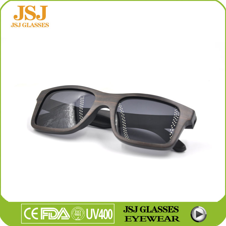 Vintage Square cheap designer Wood Sunglasses, Polarized rectangle dark gray Sunglasses