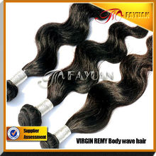 8A top grade virgin indian hair body wave