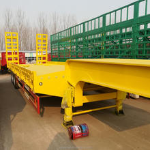Customized Made In China Hydraulic System Gooseneck Detechable Lowering Semi Trailer