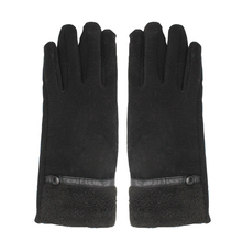 women sex dress hello woolen gloves with leather watch strap