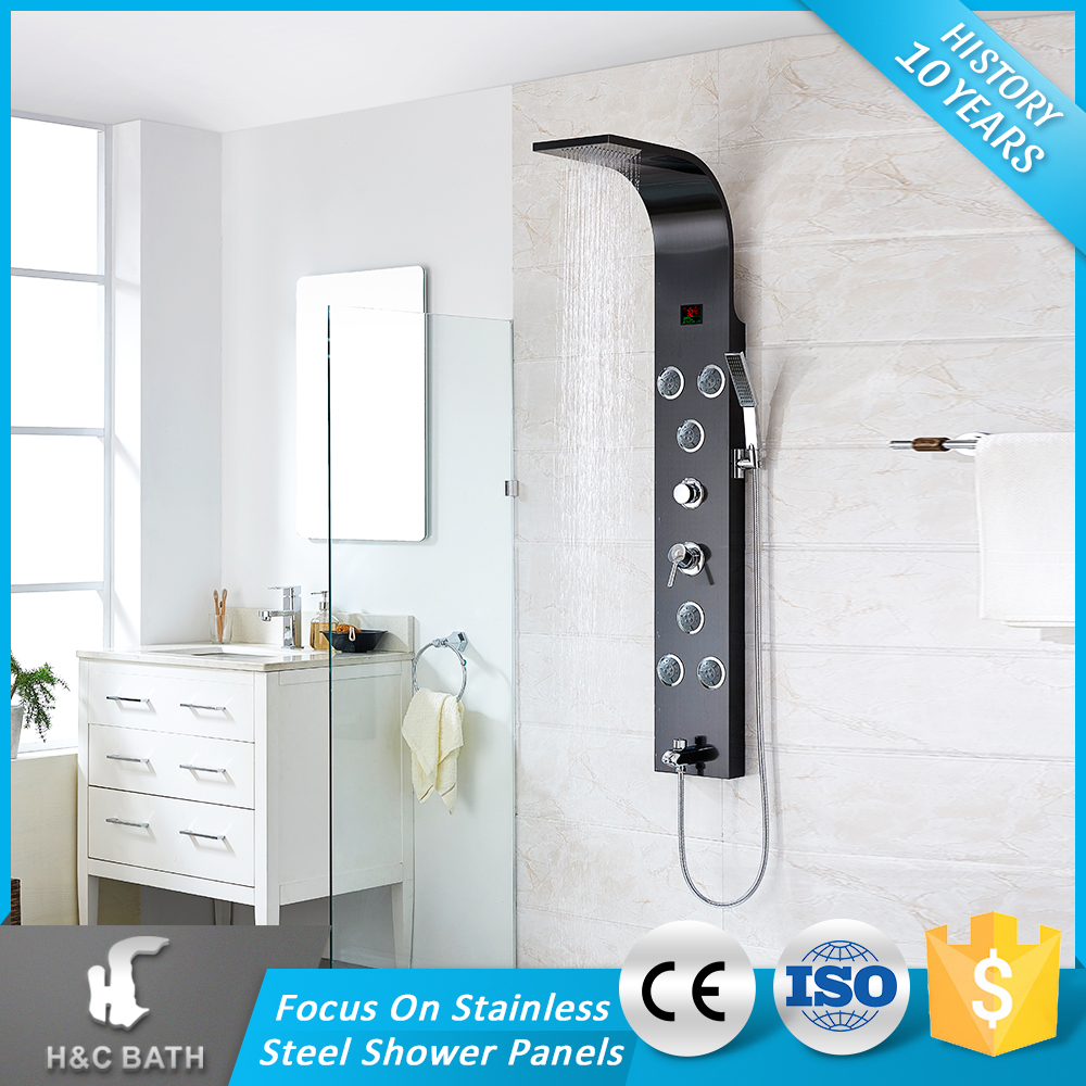 Customized OEM Easy To Use Classical Single Handle Shower Pannel