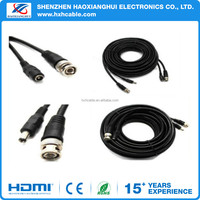 Black BNC Port Male to Male Cable 50cm