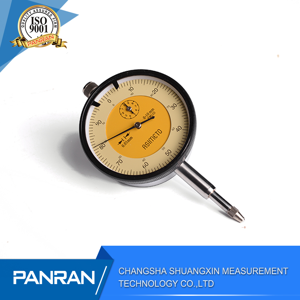 Dial test indicator dial gauge with 0.01mm With counter pointer