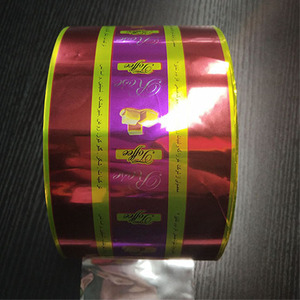 Soft plastic printed laminated packing materials opp/cpp packaging film