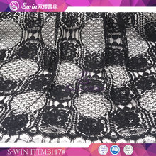 China Fashion Dress Lace Factory Made Import Heavy Cotton Fabric New York Wholesale Fabric Lace