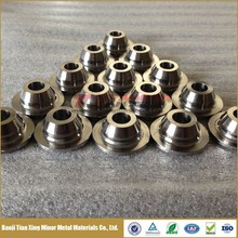 Gr5 Ti6Al4V Titanium Valve Spring Retainer Seat with High Hardness