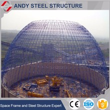 Steel dome coal shed storage building roofing structure