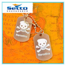 Die casting metal dog tags for pets