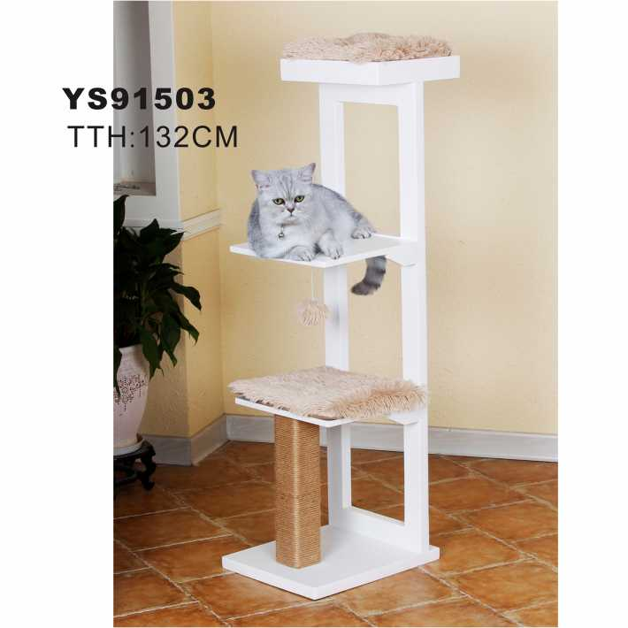 Pet Cages Carriers & Houses Type and Cats Application Cat Tree Scratching