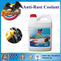 Best Sale Car Care Anti-Rust Green Radiator Coolant 2L