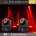 Guang zhou 6 * 4in1 rgbw 15w mini beam dmx controller led moving head bee eye for wedding praty / stage light