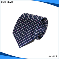 custom fashion dot tie mens 100% silk neck tie