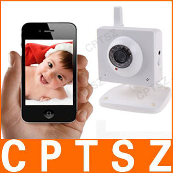 Best Selling H.264 300K Pixel CMOS Sensor Wireless Infrared Network IP Camera indoor Supporting Mobile Viewing, OEM available