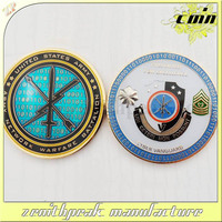 2016 Custom design metal coin supplier in metal crafts