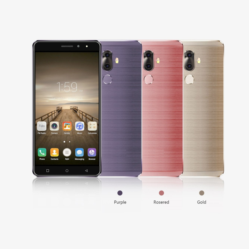 DG-M40 north america/euro version android 8.0 mtk6737 2GB 16GB 720*1280PIX 4G LTE purple,red,gold color 6inch smart mobile <strong>phone</strong>