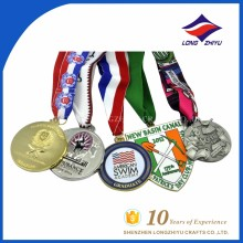 Wholesale good price die casting metal sport 2D effect customized medal